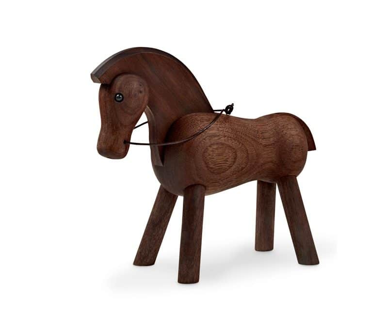 Een houten paard