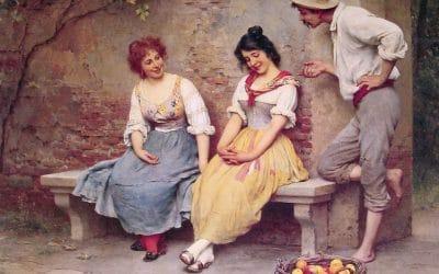Franse flirt